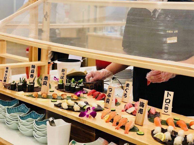 握り寿司をご堪能ください♪