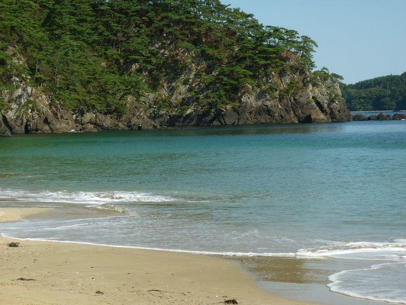 音の鳴る砂浜