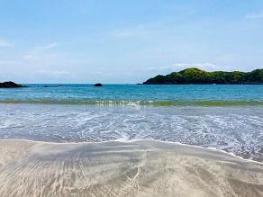 休暇村から弓ヶ浜を散策