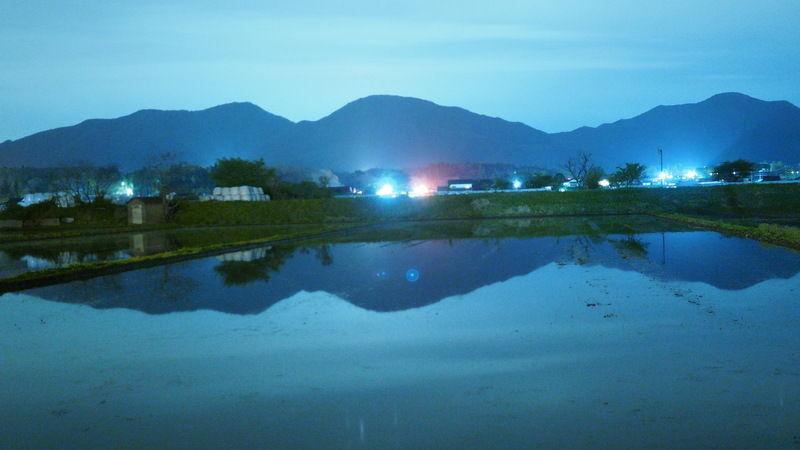 Day & Night「逆さ蒜山三座」