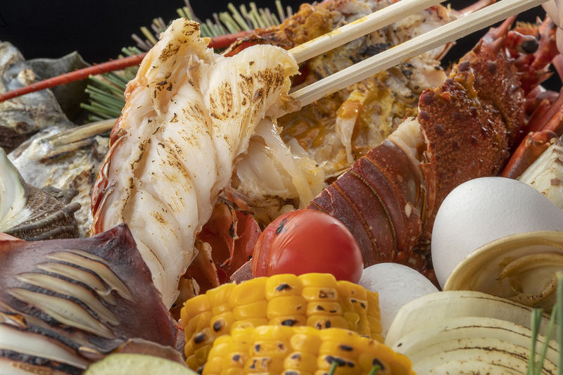 夏はすぐそこに(3) 毎年人気の海鮮石焼き!!