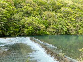 大人気の自然スポット【抱返り渓谷】で新緑を楽しむ。