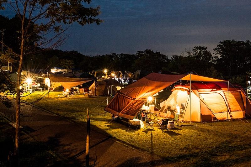 今年もキャンプが人気です♪