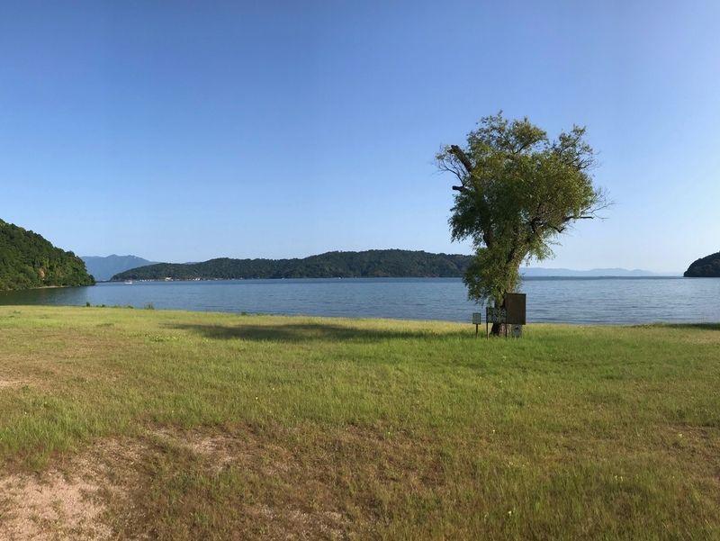 休暇村から見える景色