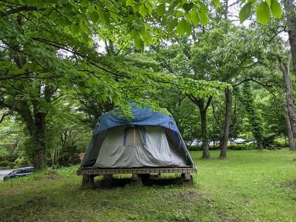 新録の季節、南阿蘇でキャンプを楽しもう♪