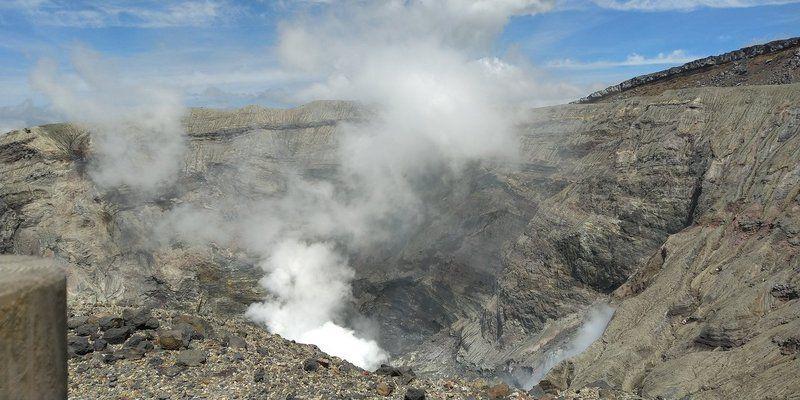2021年6月9日 阿蘇中岳火口の見学が再開されました!