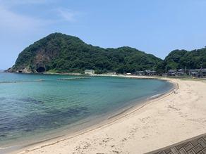 切浜海岸!
