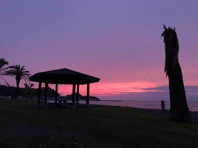 きれいな夕焼けが撮れました♪