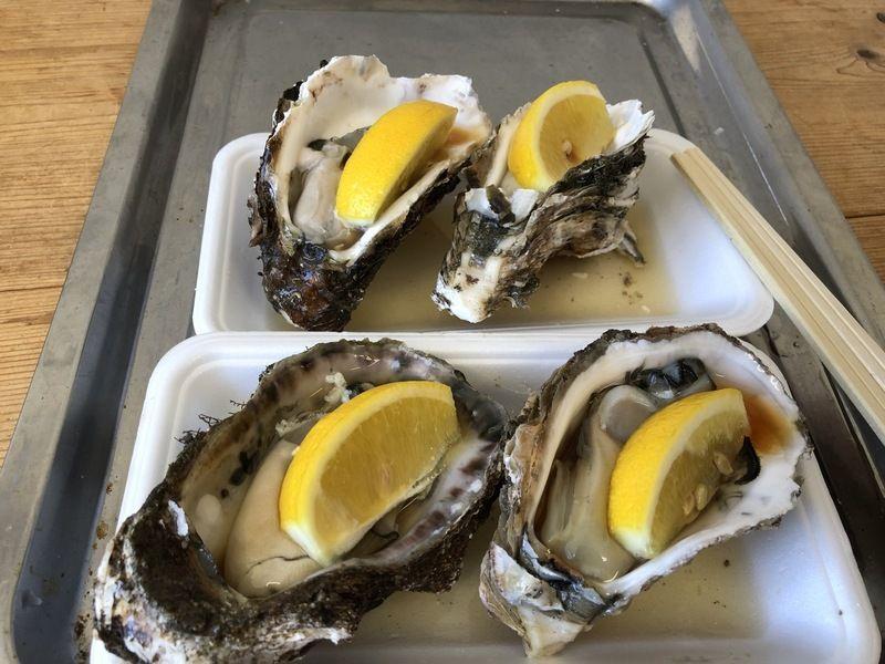 夏といえば天然岩牡蠣です!!