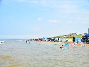 能登千里浜の夏を楽しもう!