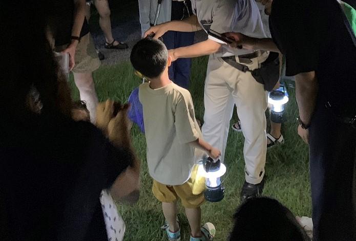 今シーズン初の『夜の昆虫観察会』で奇跡の瞬間に遭遇✨