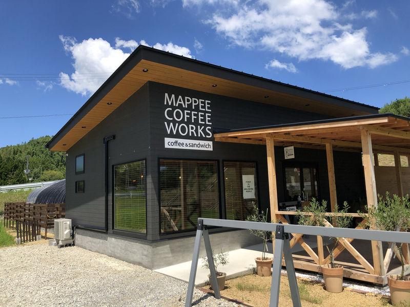 人気のコーヒー屋さん-MAPPEE COFFEE WORKS
