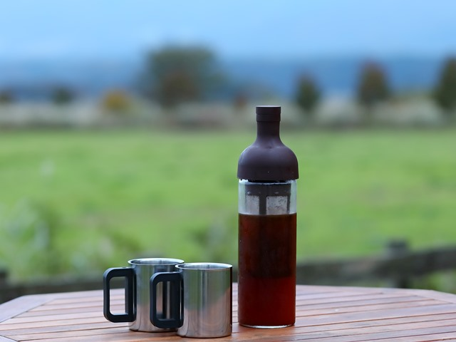 高原の爽やかな朝を愉しむ至福の一杯