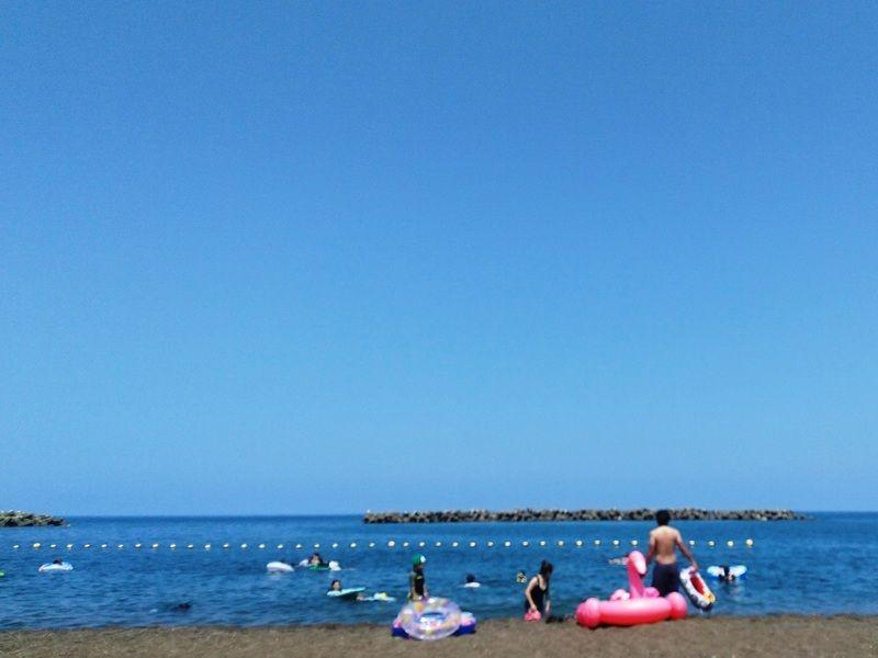 海水浴シーズン到来だよ!<br>鵜の浜海岸