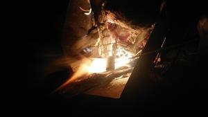 「焚き火で焼きマシュマロ」実施しました!