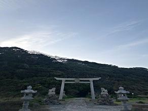 雄島にある神社。