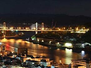 新尾道大橋ライトアップ!