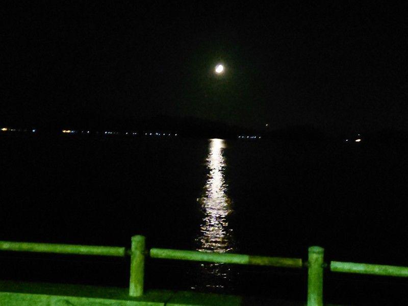 大久野島の夜景