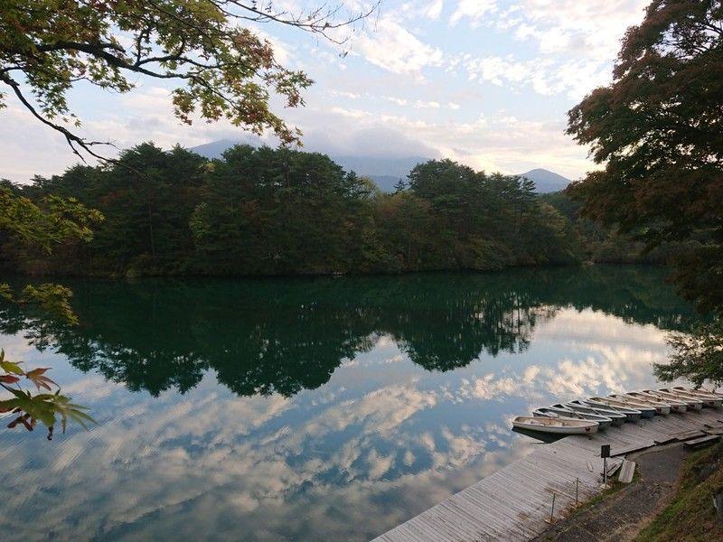 秋の五色沼でのんびりと(^_^)