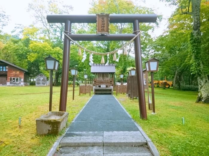 支笏湖を見守る「支笏湖神社」 | ブログ | 休暇村支笏湖【公式】